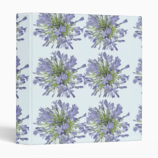 LILY LILY : Flower Floral  Purple Voilet Binder
