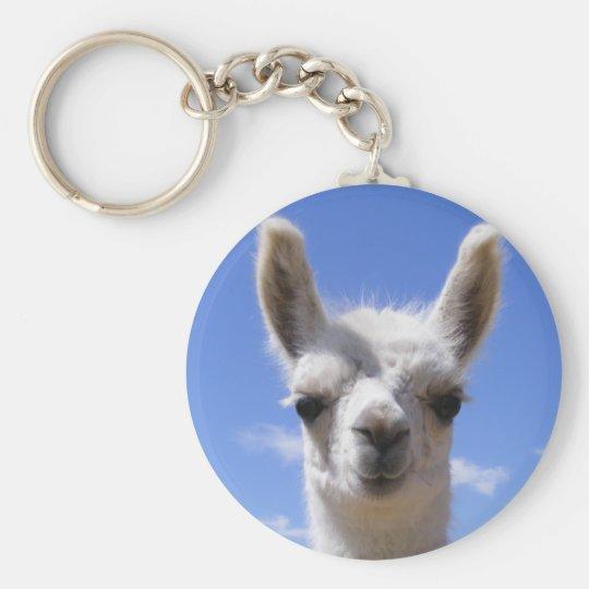 Lily Llama Key Chain
