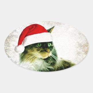 Lily Mae Santa Stickers