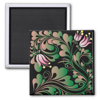 lily refrigerator magnet