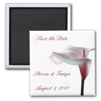 Lily Magnet Save the Date