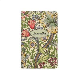 Lily Morris Vintage Floral Personalized Monogram Journal
