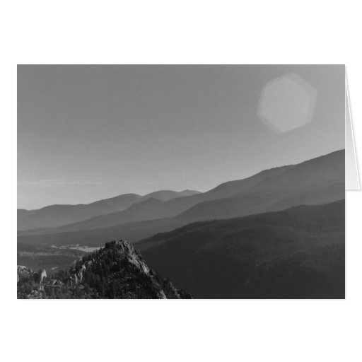 Lily Mountain View, greeting card by Mark Easton