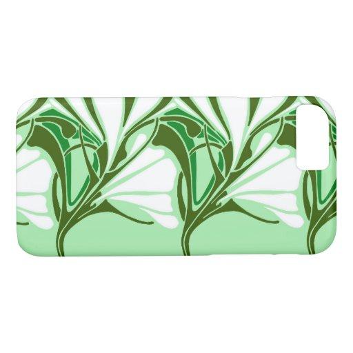 LILY NOUVEAU: GREEN SCENE iPhone 8/7 CASE
