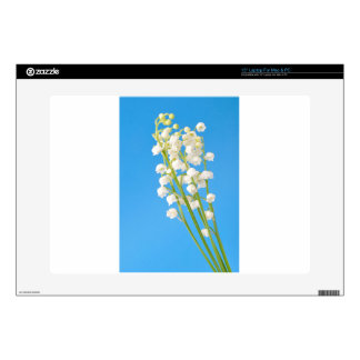 """lily of the valley 15"""" laptop skin"""