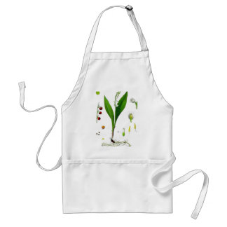 Lily of the Valley Adult Apron