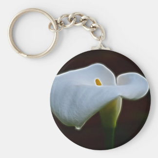 Lily of the Valley and meaning Keychain