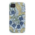 Lily of the Valley Art Nouveau Flowers Case-Mate iPhone 4 Cases