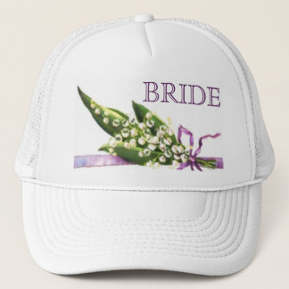 Lily of the Valley BRIDE hat