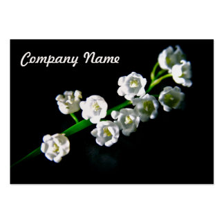 Lily of the Valley Business Card Template