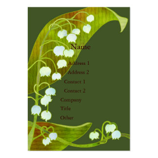 Lily of the Valley Business Cards