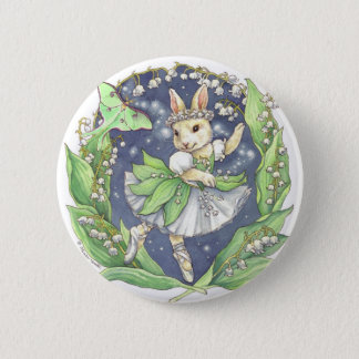 Lily of the Valley button