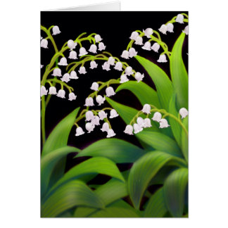 Lily of the Valley Card