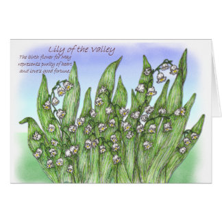 Lily of the Valley Cards