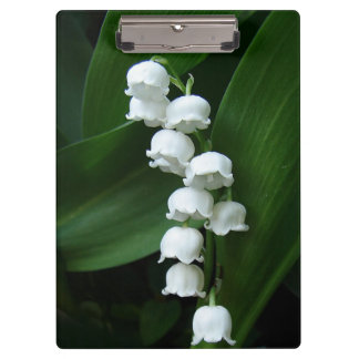 Lily of the Valley Clipboards