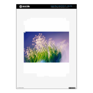 Lily of the Valley Dance in Blue iPad 3 Decals