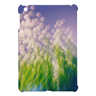 Lily of the Valley Dance in Blue iPad Mini Covers