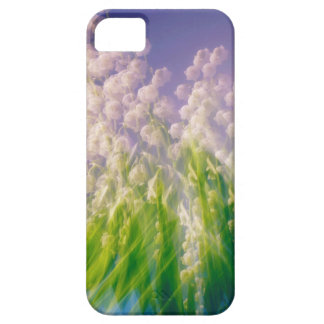 Lily of the Valley Dance in Blue iPhone SE/5/5s Case