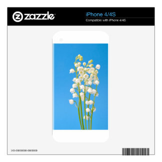 lily of the valley decal for iPhone 4