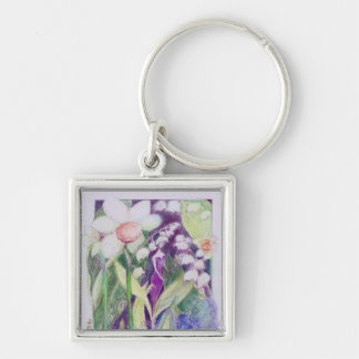 lily of the valley elve keychain