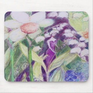 lily of the valley elve mousepad