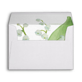 Lily of the Valley Envelope
