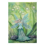 Lily of the Valley Fairy Fantasy Art Print