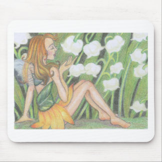Lily of the valley & fairy mousepad