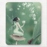 Lily of the Valley Fairy Mousepad