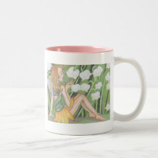 Lily of the valley & fairy Mug