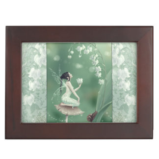 Lily of the Valley Fairy Premium Keepsake Box