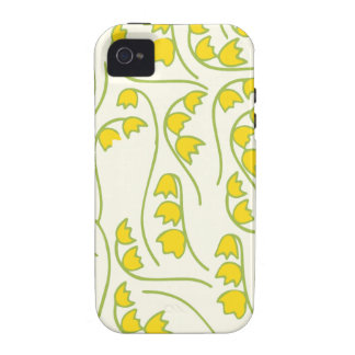 Lily of the Valley Floral Pattern Vibe iPhone 4 Cover
