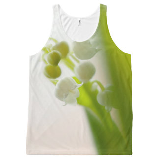 Lily of the Valley Flower All-Over-Print Tank Top