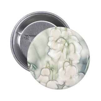 Lily of the Valley Flower Bouquet Button