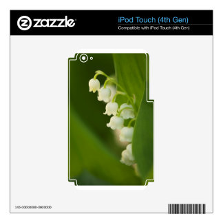 Lily of the Valley Flower Decal For iPod Touch 4G