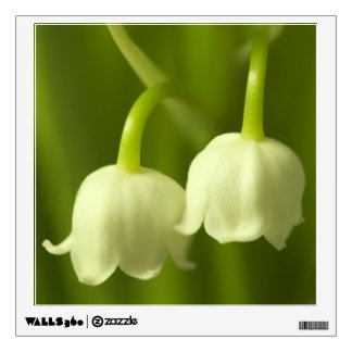 Lily of the Valley Flower Duo Wall Sticker