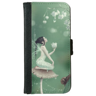 Lily of the Valley Flower Fairy iPhone 6 Wallet