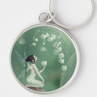Lily of the Valley Flower Fairy Premium Keychain