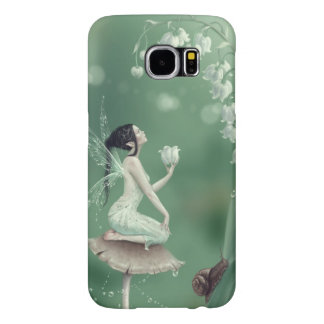 Lily of the Valley Flower Fairy Samsung Galaxy S6 Case