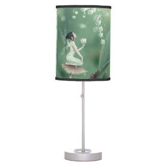 Lily of the Valley Flower Fairy Table Lamp