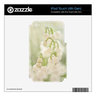Lily of the Valley Flower Group iPod Touch 4G Skin