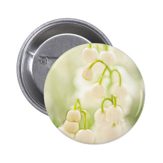 Lily of the Valley Flower Group Sketch Button