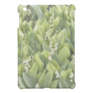 Lily of the Valley Flower Patch in Fog iPad Mini Cases
