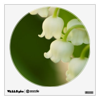 Lily of the Valley Flower Patch Wall Decal