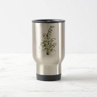 Lily of the Valley flowers 15 Oz Stainless Steel Travel Mug
