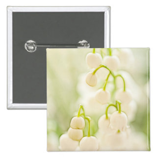 Lily of the Valley Flowers Button