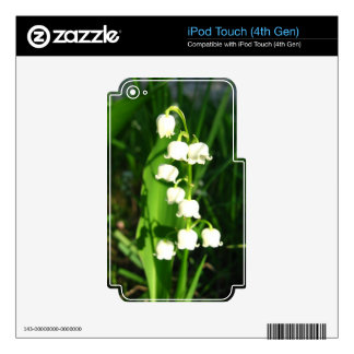 Lily Of The Valley Flowers Decals For iPod Touch 4G