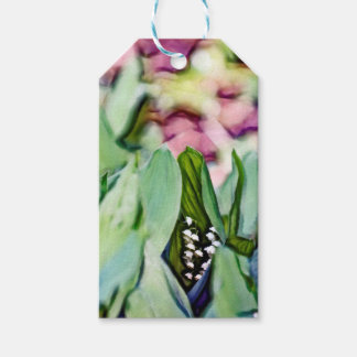 Lily of the Valley Flowers Hidden in the Leaves Gift Tags