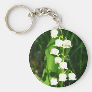 Lily Of The Valley Flowers Keychain