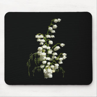 Lily of the Valley flowers Mousepads